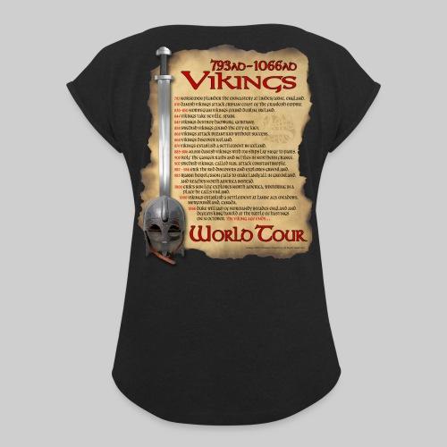 Viking World Tour 1 - Women's Roll Cuff T-Shirt