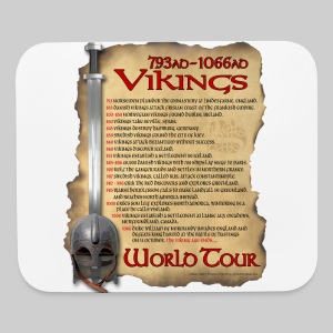 Viking World Tour - Mouse pad Horizontal