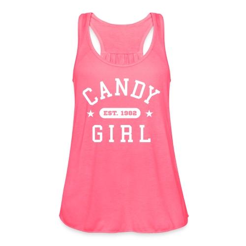 Candy Girl - Women's Flowy Tank Top by Bella