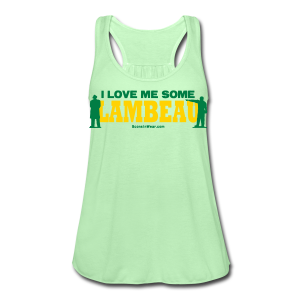 I Love Me Some Lambeau - Women's Flowy Tank Top by Bella