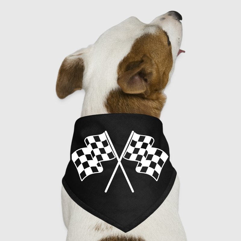 Checkered Flags Dog T-Shirts - Dog Bandana