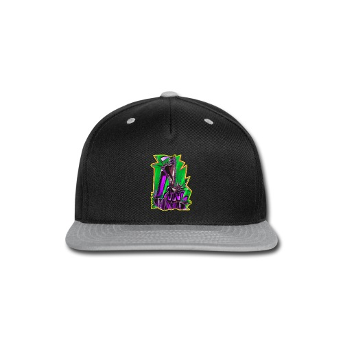 Spiked Platform Shoes - Snap-back Baseball Cap