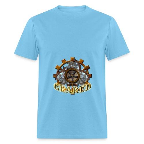 Geared Contrast Hoodie - Men's T-Shirt