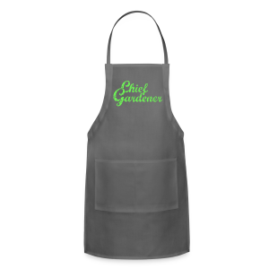 CHIEF GARDENER T-Shirt - Adjustable Apron