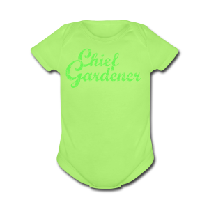 CHIEF GARDENER T-Shirt - Short Sleeve Baby Bodysuit