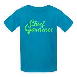 CHIEF GARDENER T-Shirt - Kids' T-Shirt