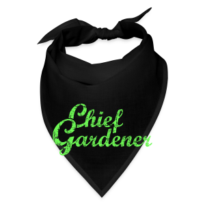 CHIEF GARDENER T-Shirt - Bandana