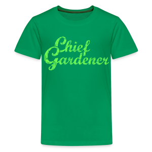 CHIEF GARDENER T-Shirt - Kids' Premium T-Shirt