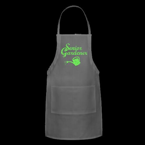 Senior Gardener T-Shirt - Adjustable Apron