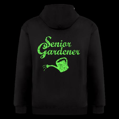 Senior Gardener T-Shirt - Men's Zip Hoodie