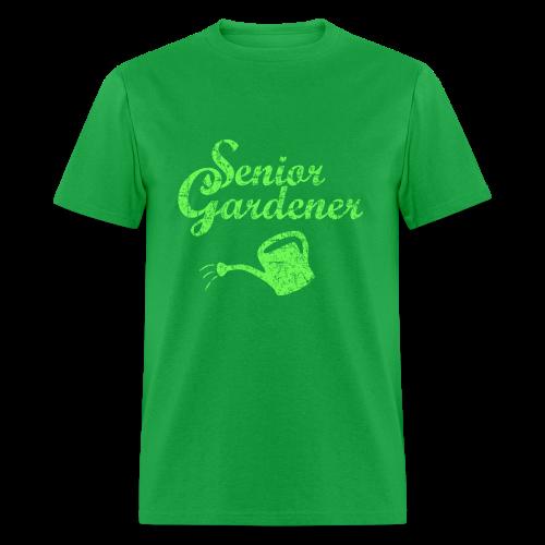 Senior Gardener T-Shirt - Men's T-Shirt