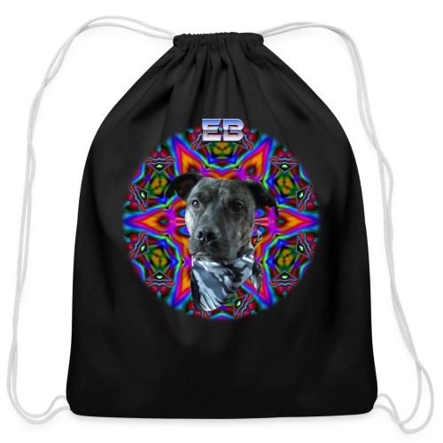 Trippy Dog Bacon - Cotton Drawstring Bag