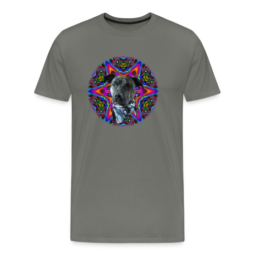 Trippy Dog Bacon - Men's Premium T-Shirt