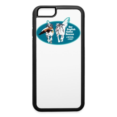 2017 OESR Men's Premium Shirt with 2 Setters Running - iPhone 6/6s Rubber Case