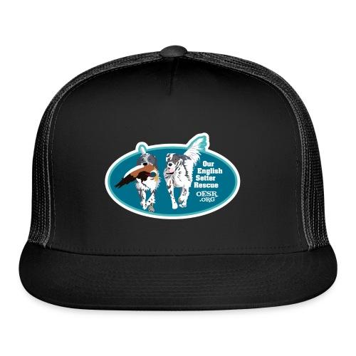 2017 OESR Men's Premium Shirt with 2 Setters Running - Trucker Cap