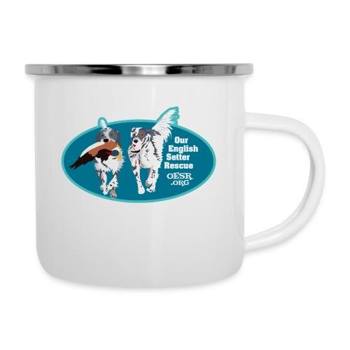 2017 OESR Men's Premium Shirt with 2 Setters Running - Camper Mug