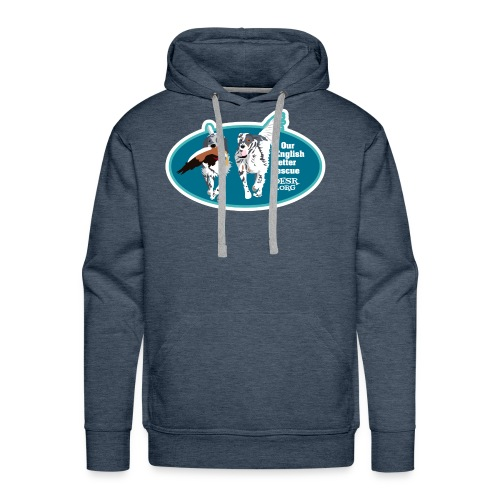 2017 OESR Men's Premium Shirt with 2 Setters Running - Men's Premium Hoodie
