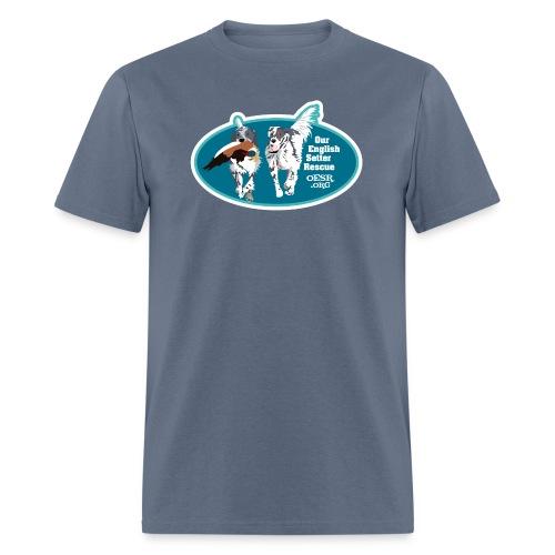 2017 OESR Men's Premium Shirt with 2 Setters Running - Men's T-Shirt