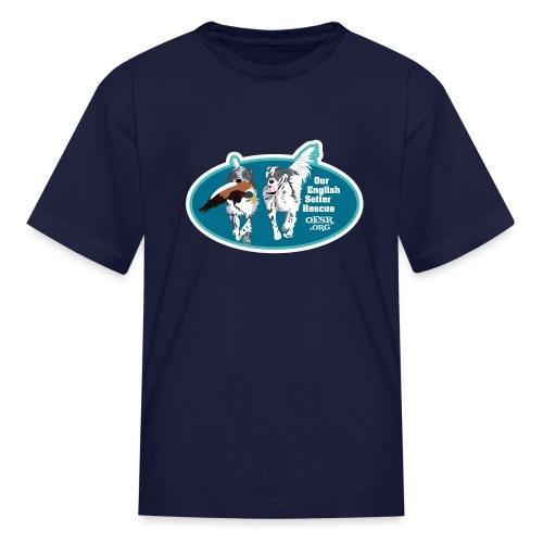 2017 OESR Men's Premium Shirt with 2 Setters Running - Kids' T-Shirt