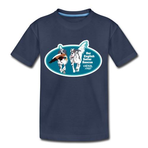 2017 OESR Men's Premium Shirt with 2 Setters Running - Toddler Premium T-Shirt