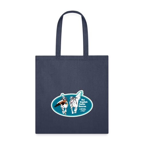 2017 OESR Men's Premium Shirt with 2 Setters Running - Tote Bag
