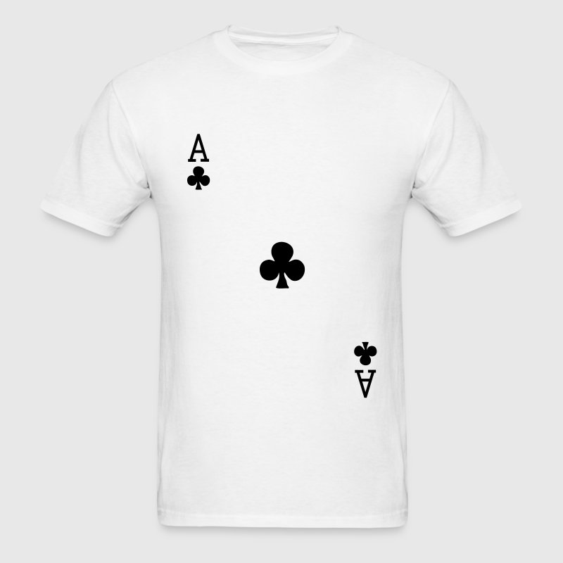 Ace of Clubs T-Shirts - Men's T-Shirt
