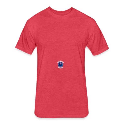 Brefugees Welcome - Fitted Cotton/Poly T-Shirt by Next Level