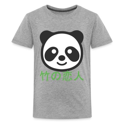 Bamboo Lover Long Sleeve Shirts - Kids' Premium T-Shirt