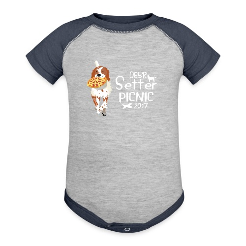 2017 OESR Women's Premium Shirt for the Setter Picnic in September - Contrast Baby Bodysuit