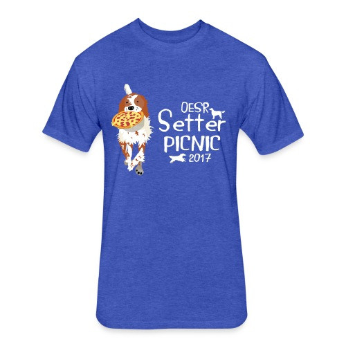 2017 OESR Women's Premium Shirt for the Setter Picnic in September - Fitted Cotton/Poly T-Shirt by Next Level