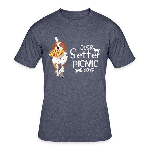 2017 OESR Women's Premium Shirt for the Setter Picnic in September - Men's 50/50 T-Shirt