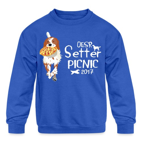 2017 OESR Women's Premium Shirt for the Setter Picnic in September - Kids' Crewneck Sweatshirt