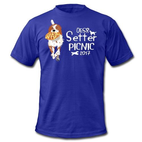 2017 OESR Women's Premium Shirt for the Setter Picnic in September - Men's Fine Jersey T-Shirt