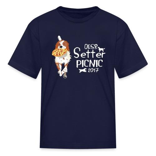2017 OESR Women's Premium Shirt for the Setter Picnic in September - Kids' T-Shirt