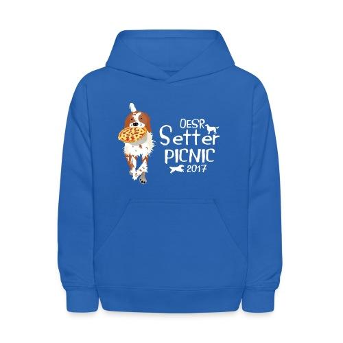 2017 OESR Women's Premium Shirt for the Setter Picnic in September - Kids' Hoodie