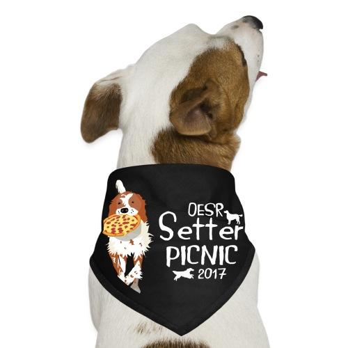 2017 OESR Women's Premium Shirt for the Setter Picnic in September - Dog Bandana