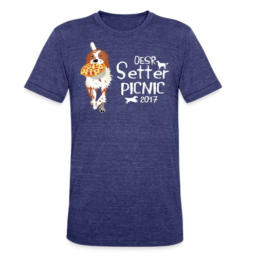 2017 OESR Women's Premium Shirt for the Setter Picnic in September - Unisex Tri-Blend T-Shirt