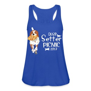 2017 OESR Women's Premium Shirt for the Setter Picnic in September - Women's Flowy Tank Top by Bella