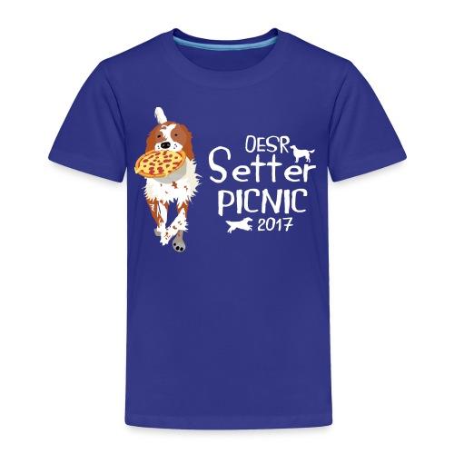 2017 OESR Women's Premium Shirt for the Setter Picnic in September - Toddler Premium T-Shirt