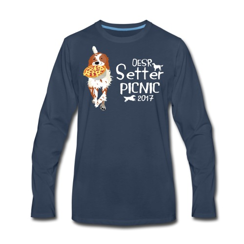2017 OESR Women's Premium Shirt for the Setter Picnic in September - Men's Premium Long Sleeve T-Shirt