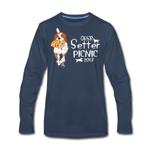 2017 OESR Women's Premium Shirt for the Setter Picnic in September - Men's Premium Long Sleeve T-Shirt