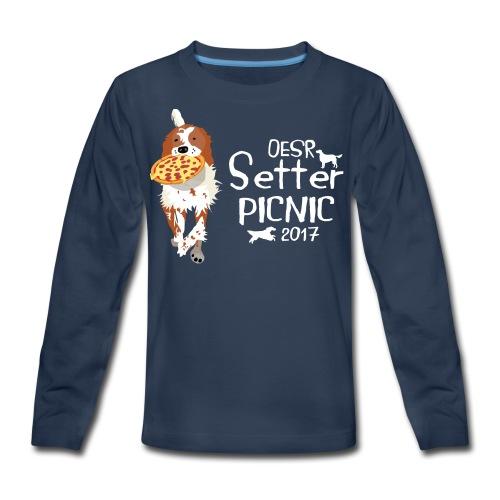 2017 OESR Women's Premium Shirt for the Setter Picnic in September - Kids' Premium Long Sleeve T-Shirt