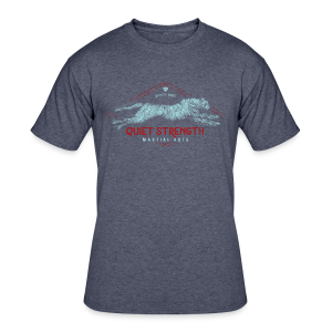 Quiet Strength Martial Arts - Men's 50/50 T-Shirt