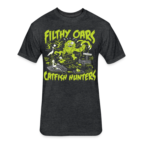 Filthy Oars - Fitted Cotton/Poly T-Shirt by Next Level