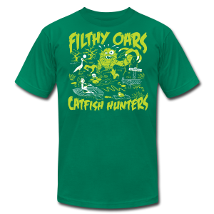 Filthy Oars - Men's T-Shirt by American Apparel