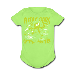 Filthy Oars - Short Sleeve Baby Bodysuit