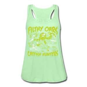 Filthy Oars - Women's Flowy Tank Top by Bella