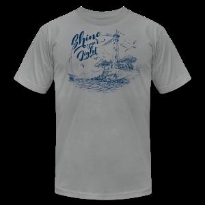 Shine Your Light - Men's Fine Jersey T-Shirt