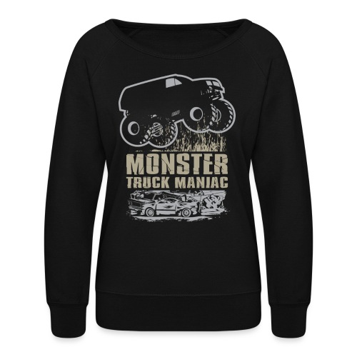 Monster Truck Maniac - Women's Crewneck Sweatshirt
