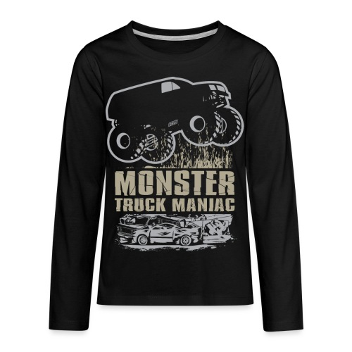 Monster Truck Maniac - Kids' Premium Long Sleeve T-Shirt
